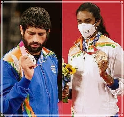 India Finishes 48th in Overall Olympic Medals Won